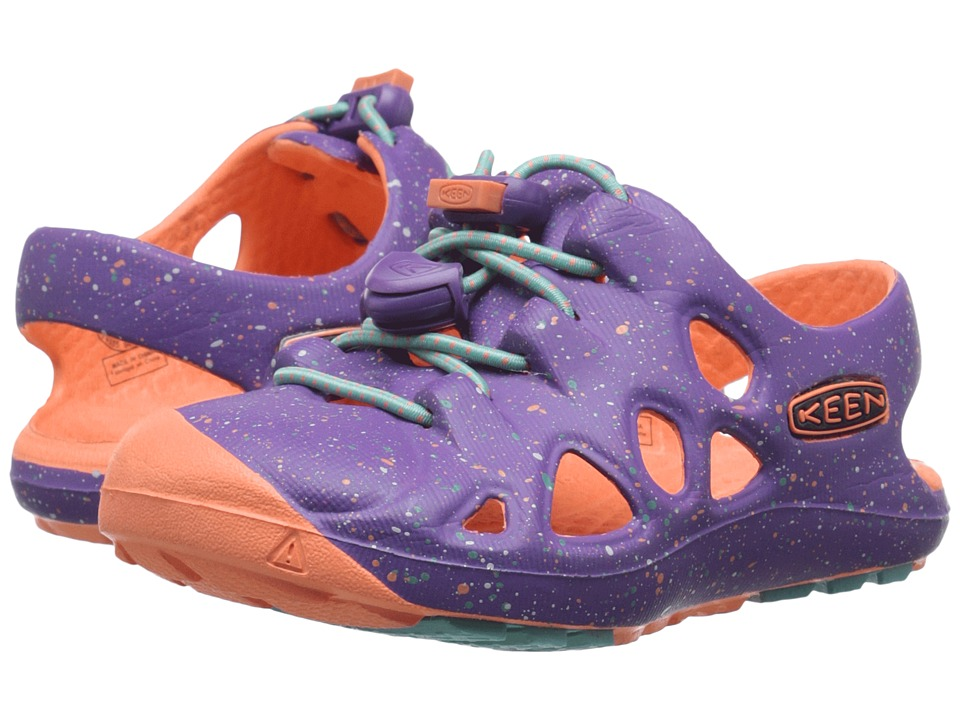 Keen Kids - Rio (Toddler) (Purple Heart/Fusion Coral) Girls Shoes