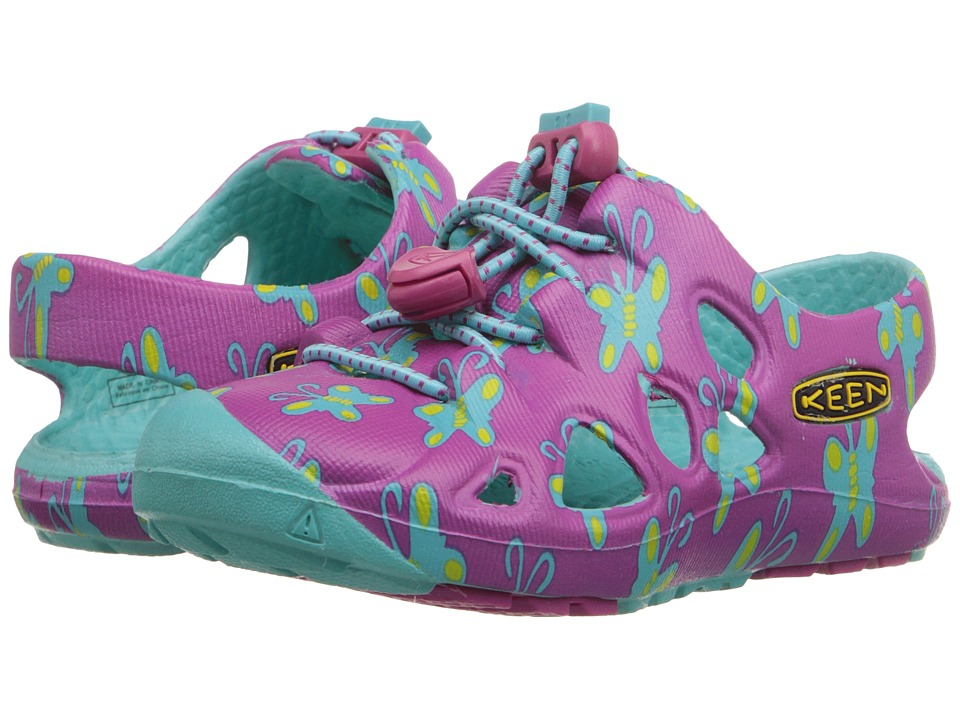 Keen Kids - Rio (Toddler) (Very Berry Butterfly) Girls Shoes
