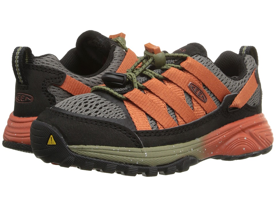 Keen Kids - Versatrail (Toddler/Little Kid) (Burnt Olive/Burnt Ochre) Boy's Shoes