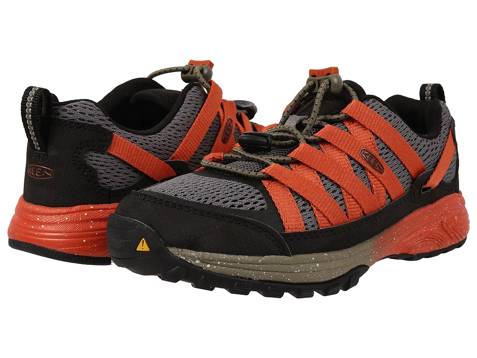 Keen Kids - Versatrail (Little Kid/Big Kid) (Burnt Olive/Burnt Ochre) Boy's Shoes