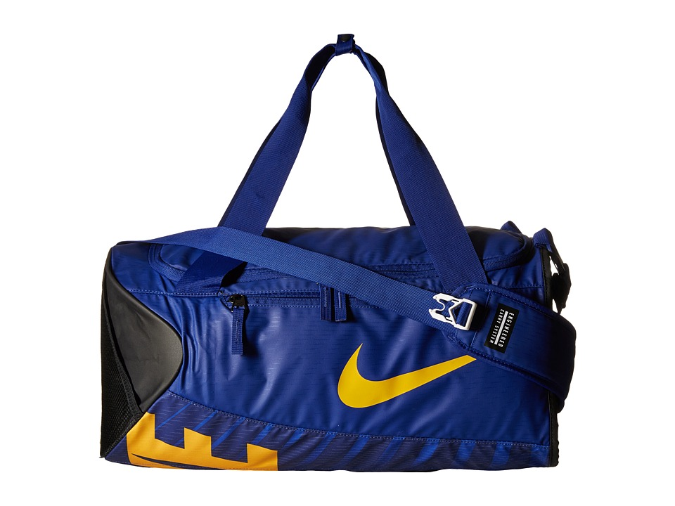 Nike - New Duffel Small (Deep Royal Blue/Black/University Gold) Duffel Bags