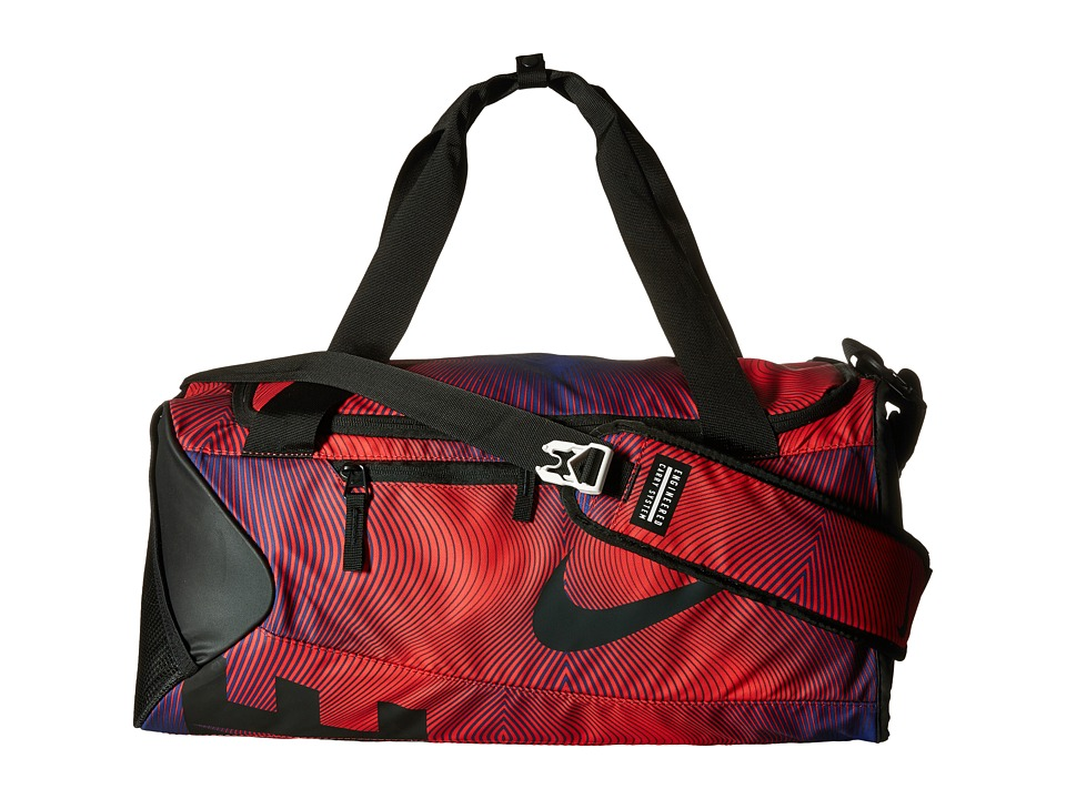 Nike - New Duffel Graphic Small (University Red/Black/Black) Duffel Bags