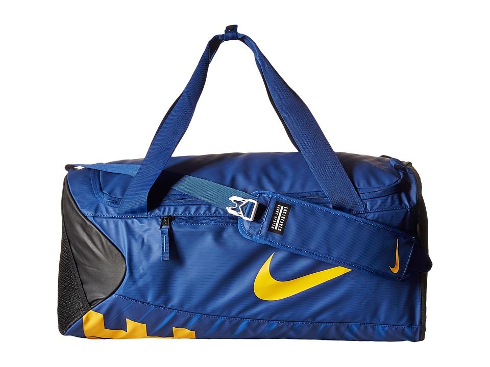 Nike - New Duffel Medium (Deep Royal Blue/Black/University Gold) Duffel Bags