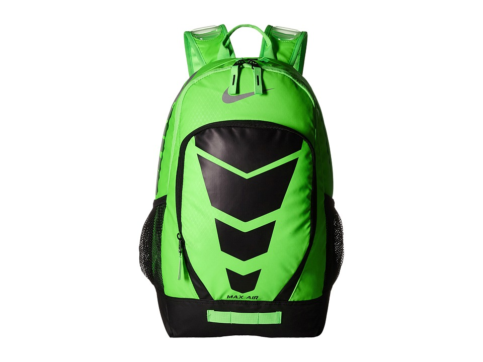 Nike - Max Air Vapor Backpack (Voltage Green/Black/Metallic Silver) Day Pack Bags