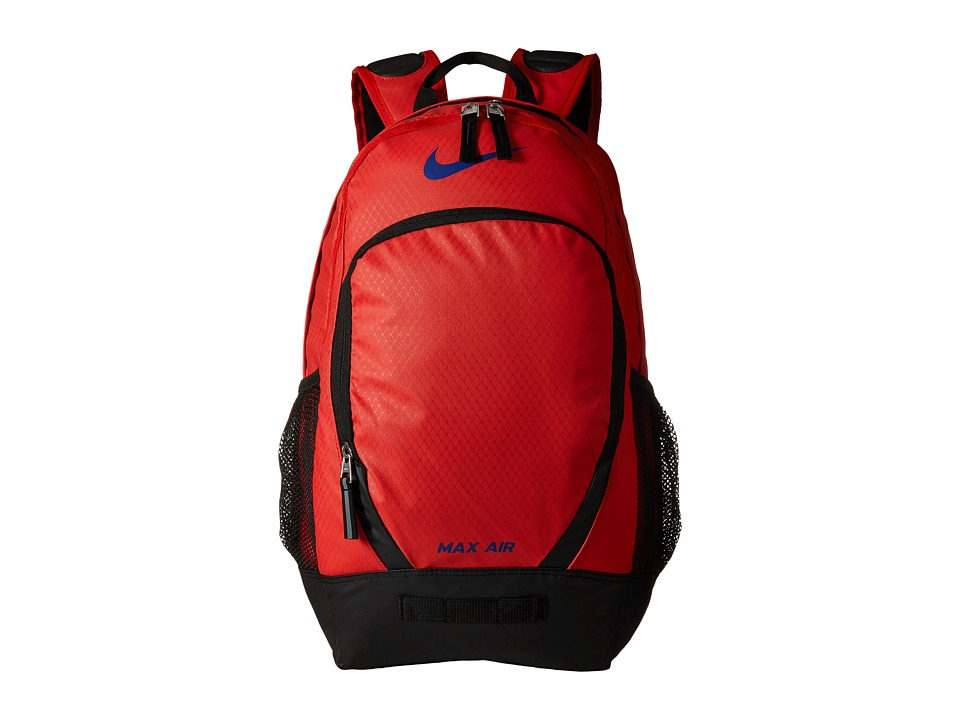 Nike - Team Training Max Air Large Backpack (University Red/Black/Deep Royal Blue) Backpack Bags