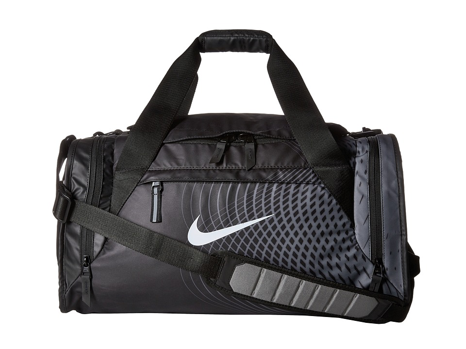 Nike - Ultimatum Small Duffel - Graphic (Black/Tumbled Grey/White) Duffel Bags