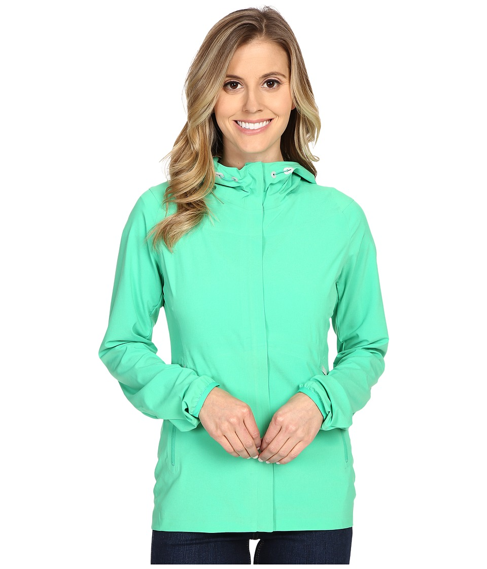 The North Face - Bond Girl Jacket (Blarney Green) Women's Coat