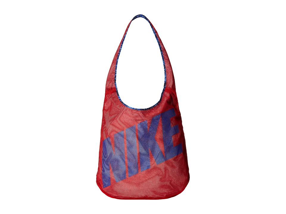 Nike - Graphic Reversible Tote (University Red/Obsidian/Deep Royal Blue) Tote Handbags