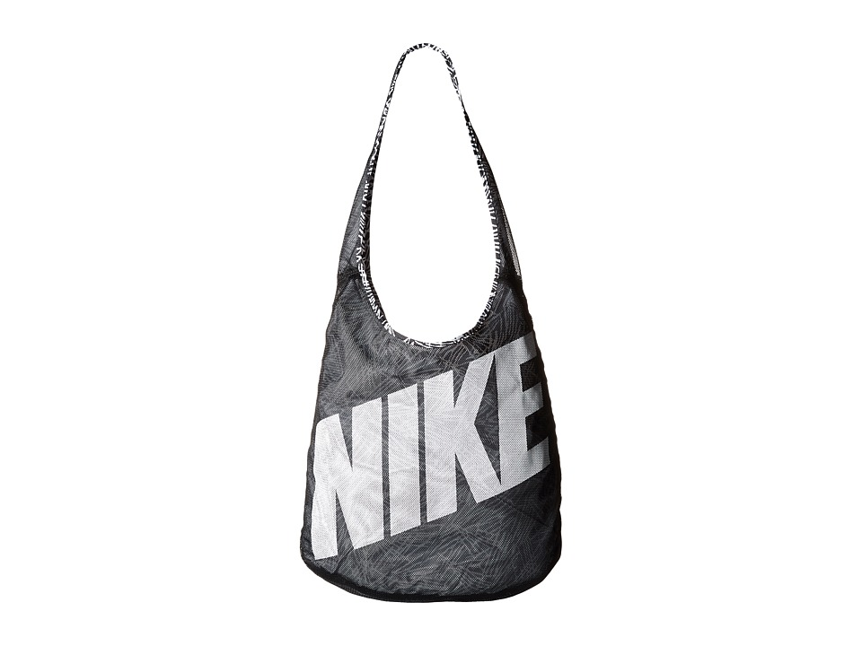 Nike - Graphic Reversible Tote (Black/Black/White 2) Tote Handbags