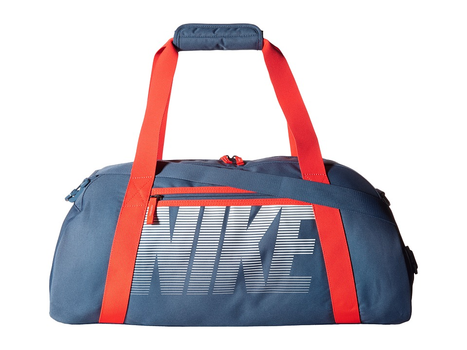Nike - Gym Club (Ocean Fog/Bright Crimson/White) Duffel Bags