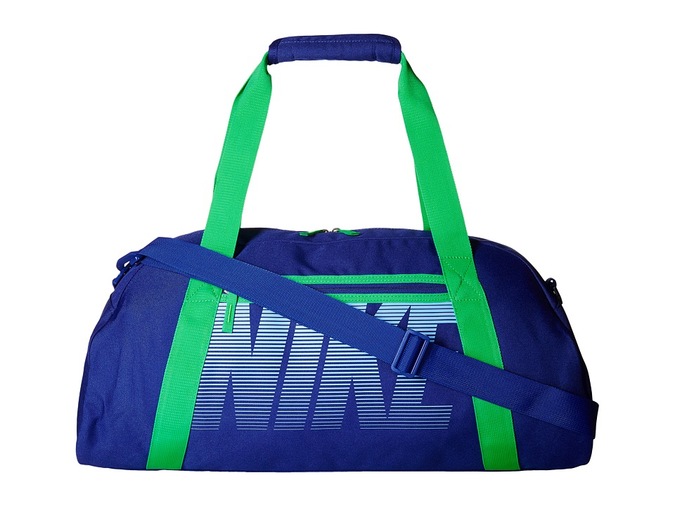 Nike - Gym Club (Deep Royal Blue/Spring Leaf/Chalk Blue) Duffel Bags