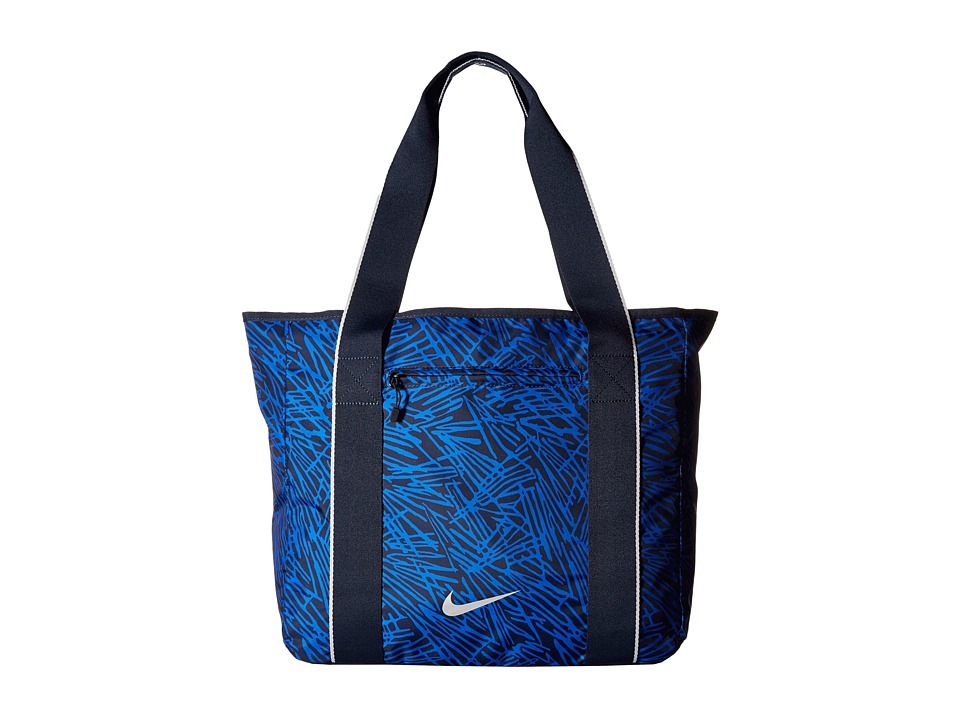 Nike - Legend Track Tote (Obsidian/Game Royal/Metallic Silver) Tote Handbags