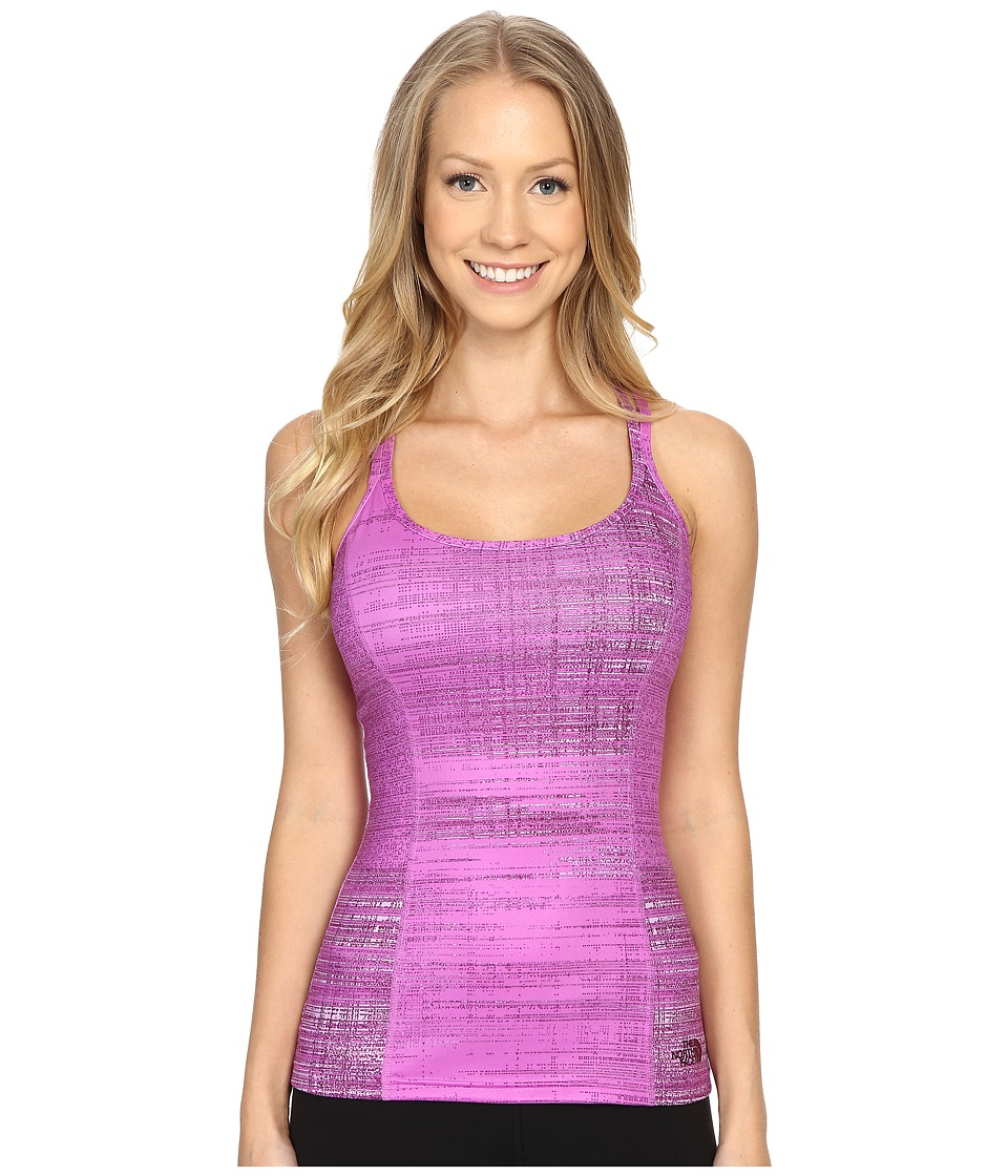 The North Face Empower Tank Top (Sweet Violet Scratchy Print) Women