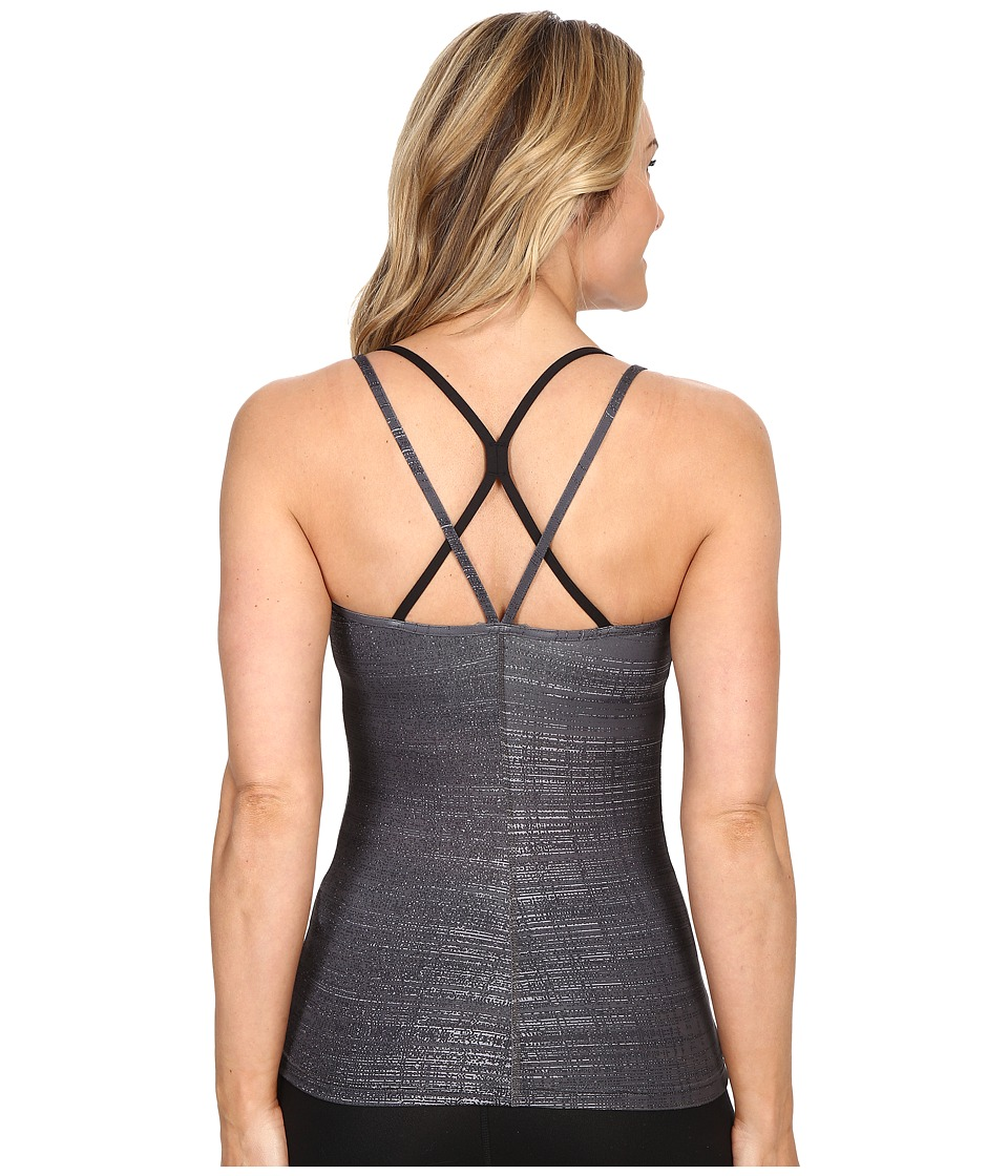 The North Face - Empower Tank Top (Graphite Grey Scratchy Print) Women's Sleeveless