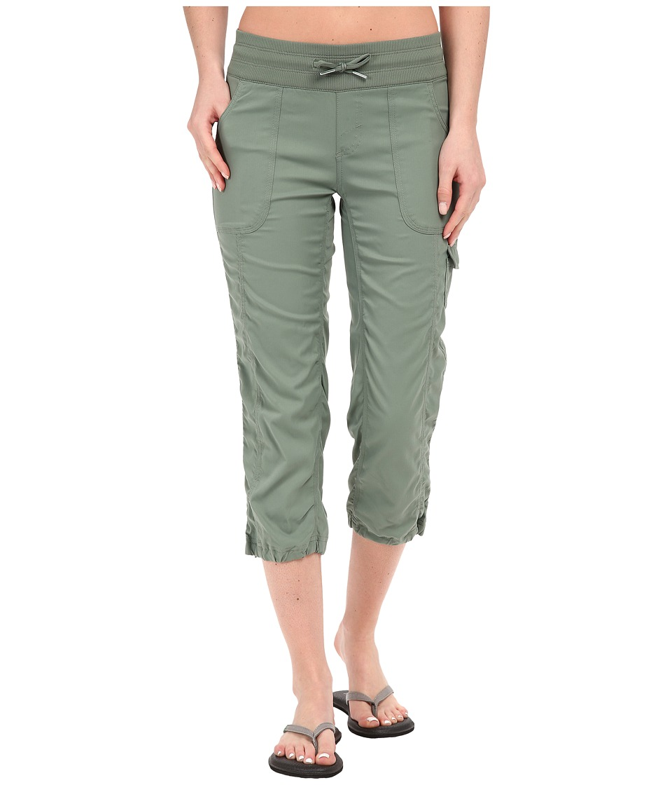 The North Face - Aphrodite Capris (Laurel Wreath Green) Women's Capri