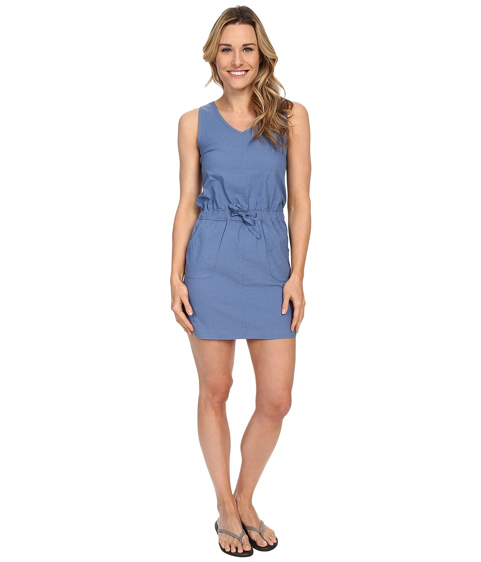 The North Face Aphrodite Dress (Indigo Heather Mini Stripe) Women
