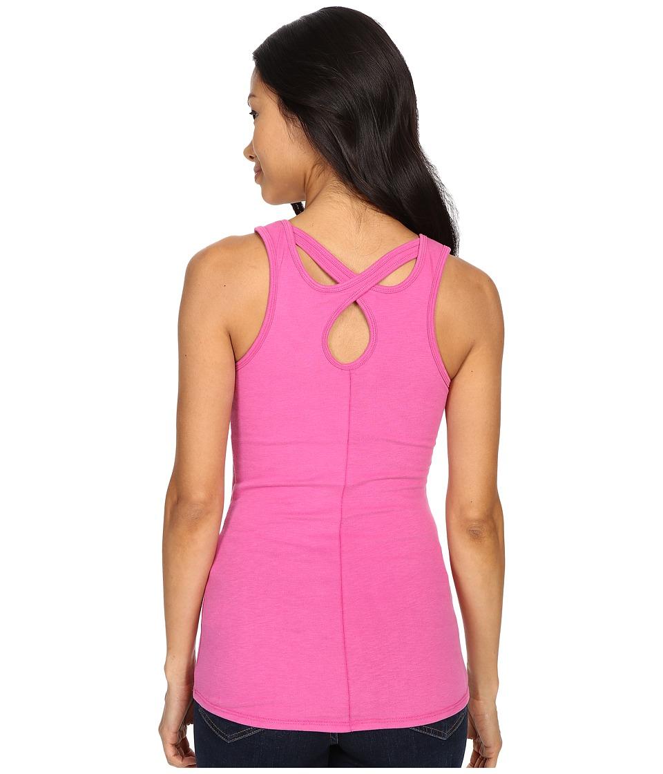 The North Face - Breezeback Knit Tank Top (Raspberry Rose) Women's Sleeveless