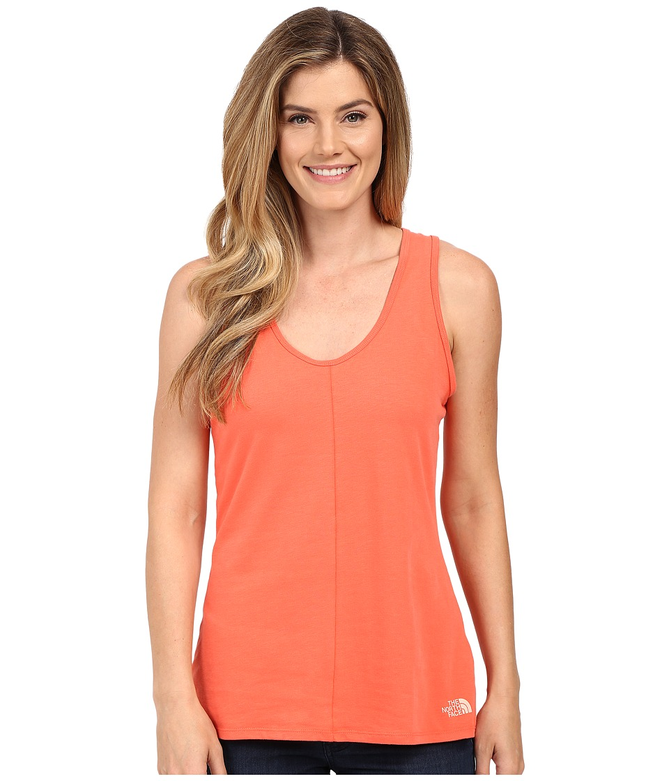 The North Face - Breezeback Knit Tank Top (Radiant Orange) Women's Sleeveless