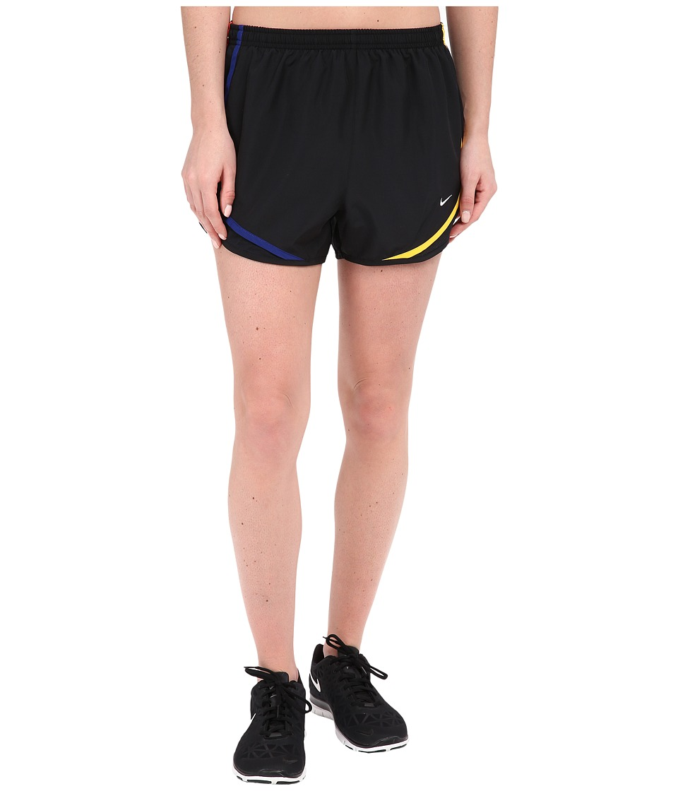 Nike - Tempo Short (Black/Black/Wolf Grey) Women's Workout