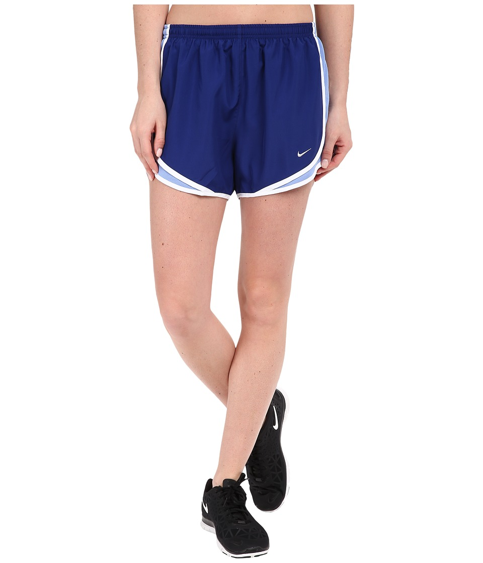 Nike - Tempo Short (Deep Royal Blue/Chalk Blue/White/Wolf Grey) Women's Workout
