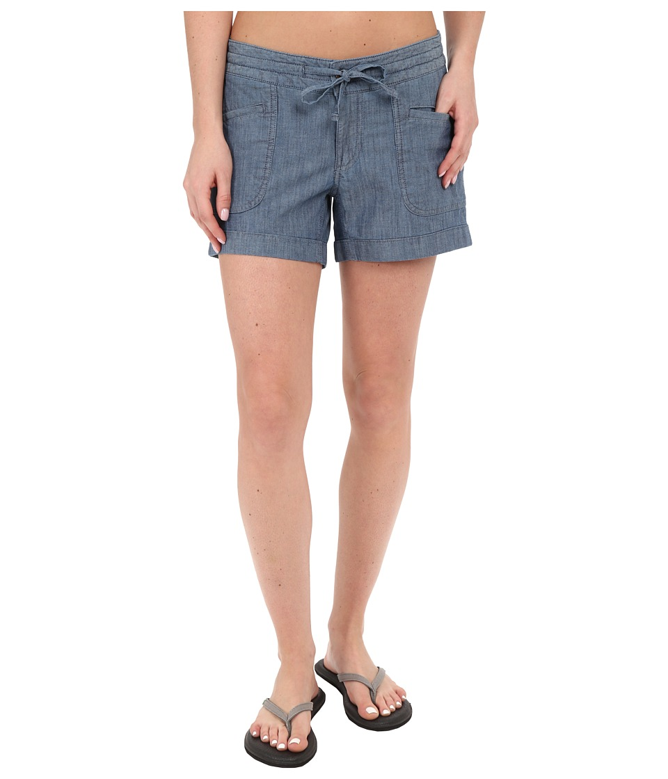 The North Face - Wander Free Shorts (Indigo Chambray) Women's Shorts
