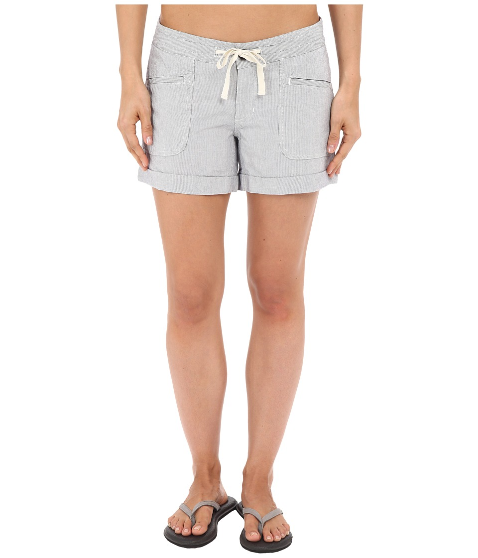 The North Face - Wander Free Shorts (Patriot Blue Stripe) Women's Shorts