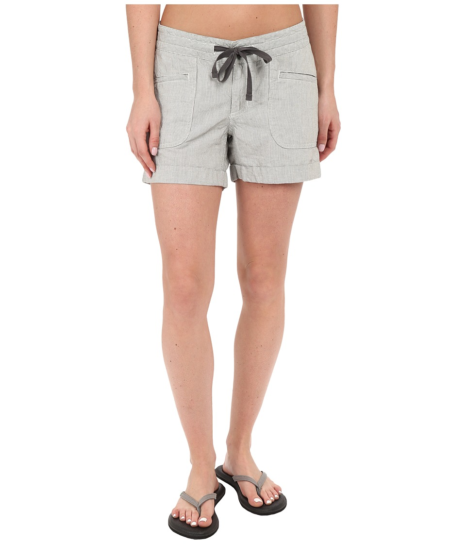 The North Face - Wander Free Shorts (Graphite Grey Stripe) Women's Shorts