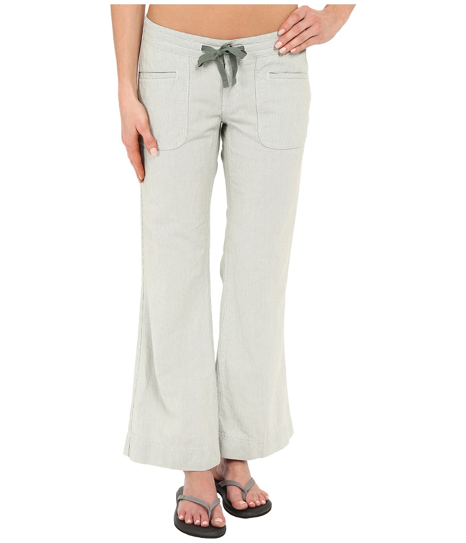 The North Face - Wander Free Pants (Laurel Wreath Green Stripe) Women's Casual Pants