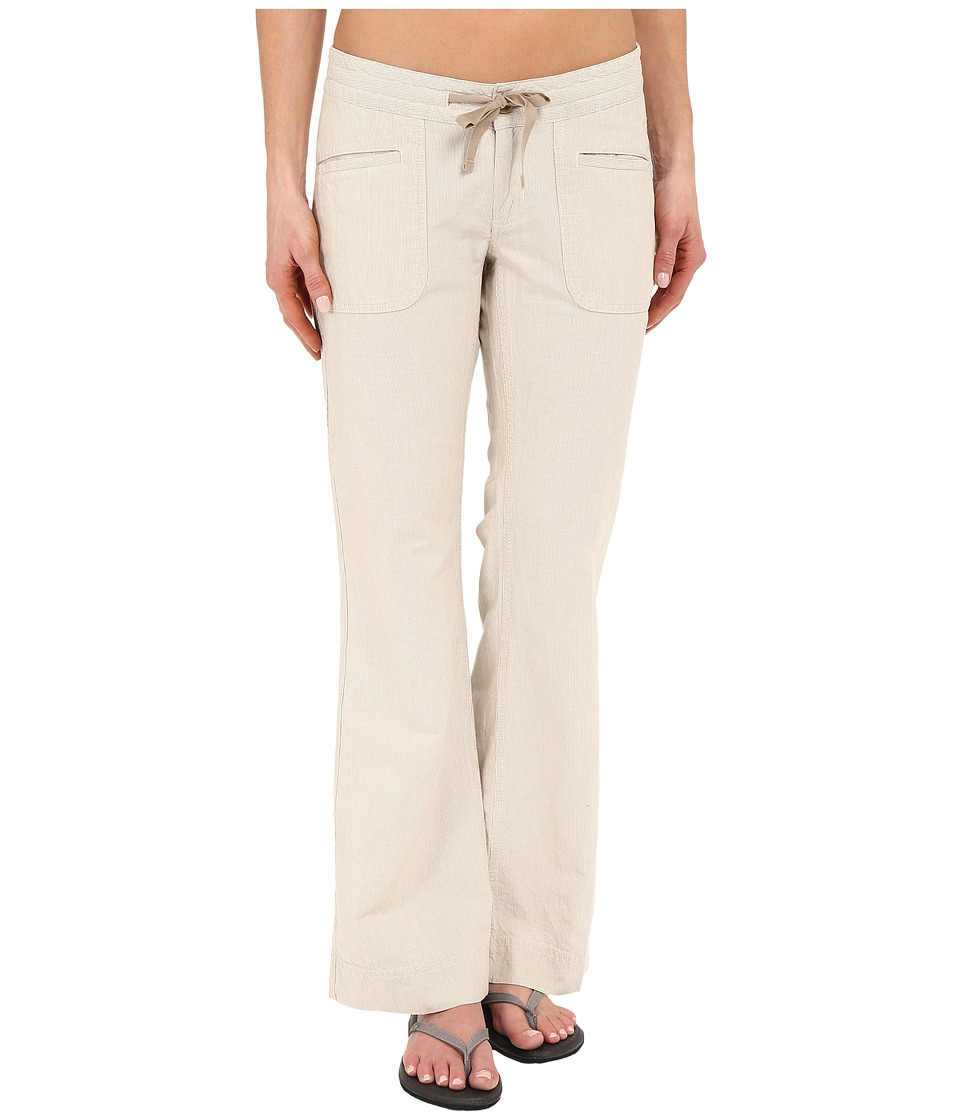 The North Face - Wander Free Pants (Dune Beige Stripe) Women's Casual Pants