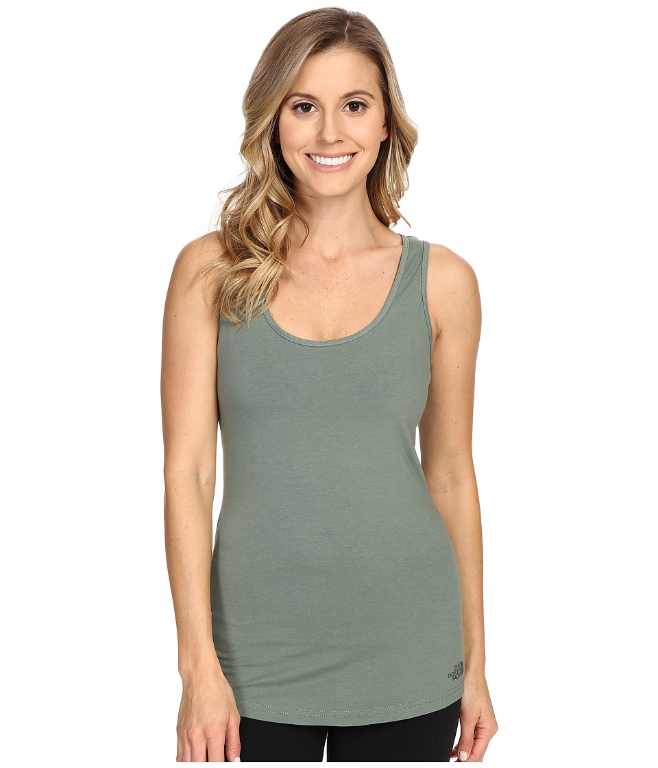 The North Face - On The Go Tank Top (Laurel Wreath Green) Women's Sleeveless