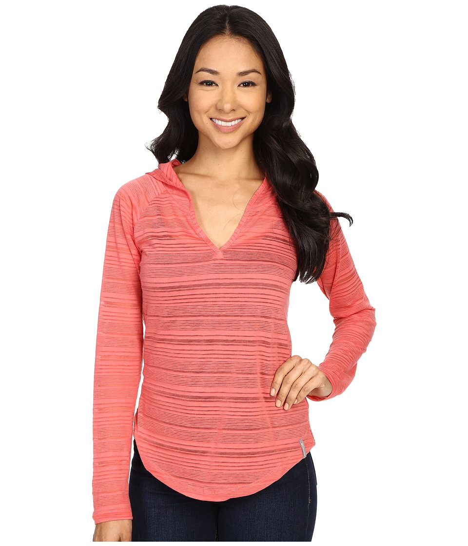 Columbia - Inner Luminosity Hoodie (Coral Bloom) Women's Sweatshirt