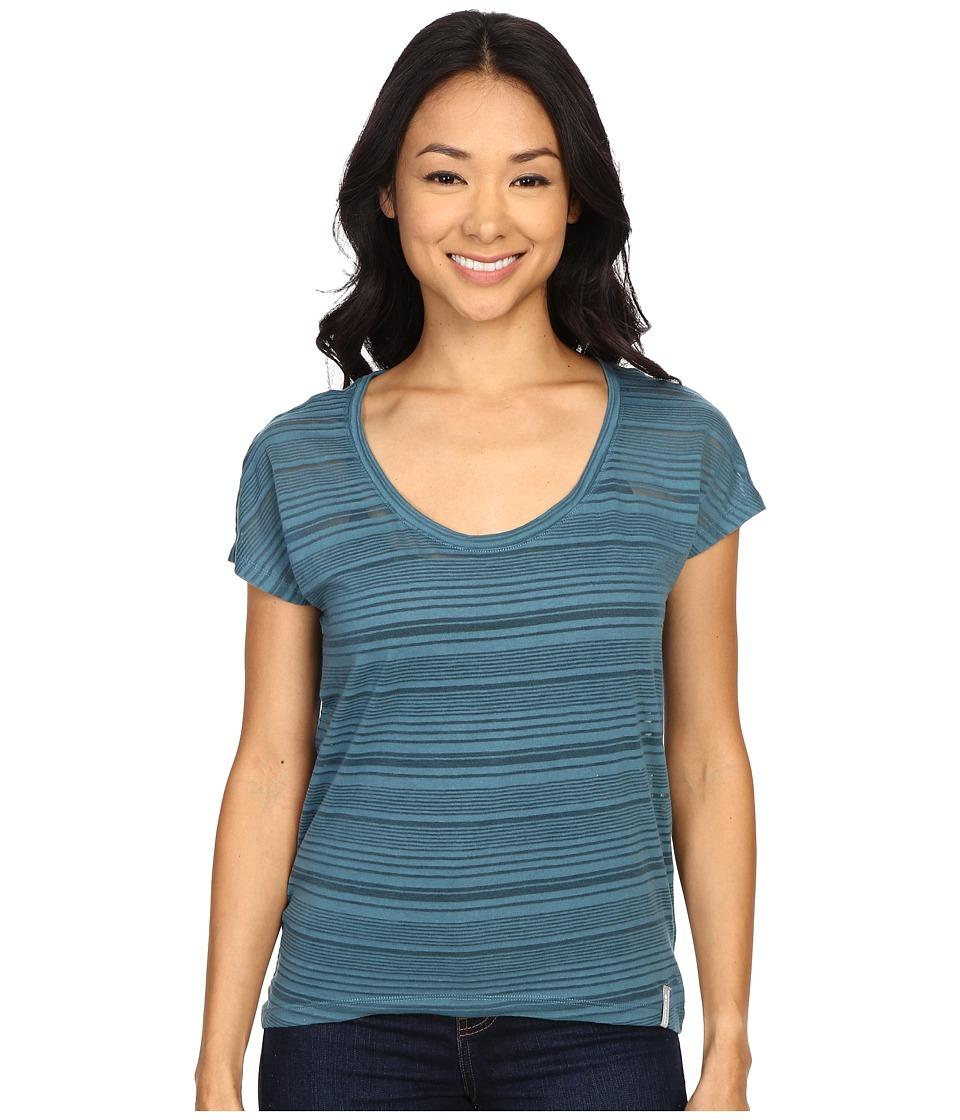 Columbia - Inner Luminosity II Short Sleeve Shirt (Cloudburst) Women's Short Sleeve Pullover