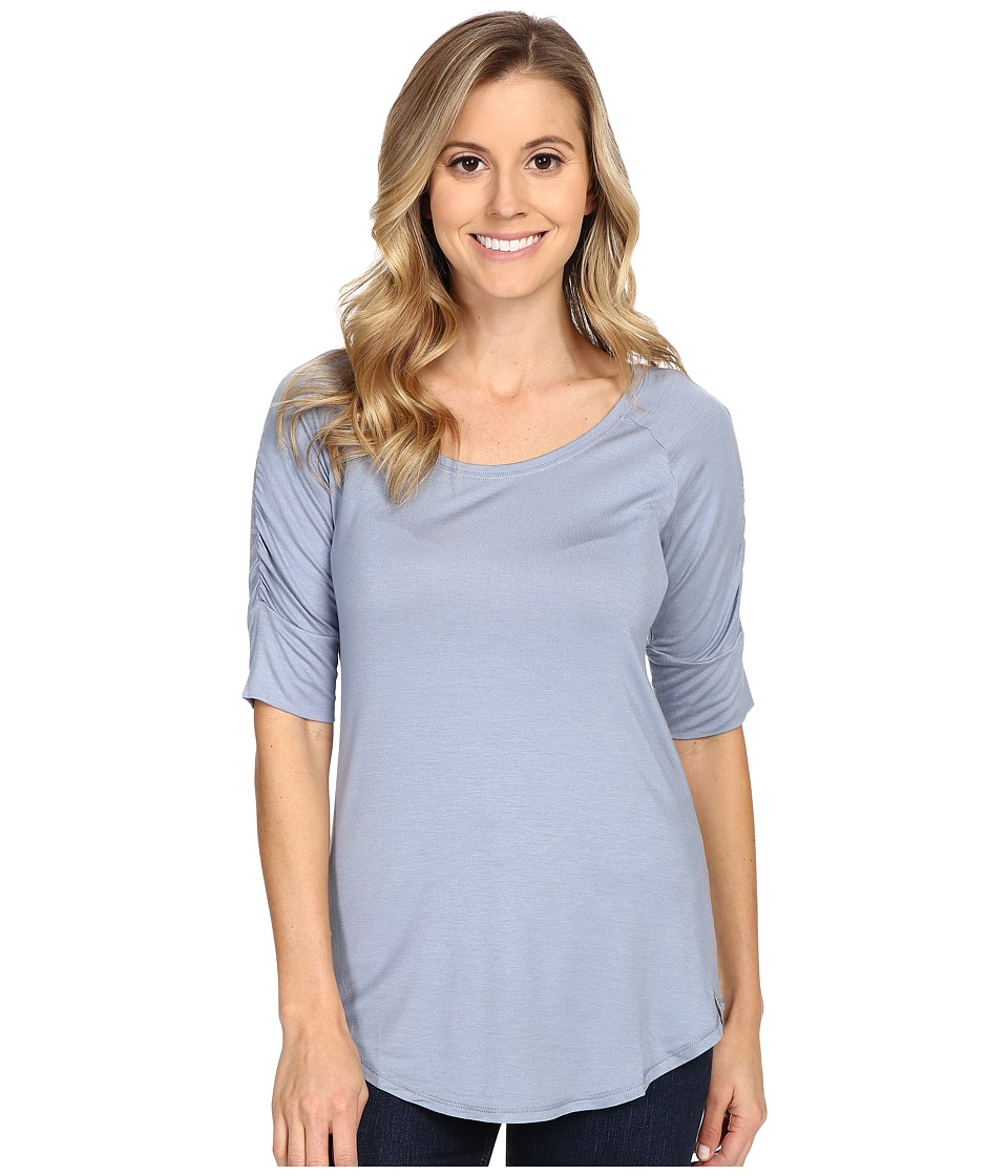 Columbia - Lumianationtm Elbow Sleeve Shirt (Beacon) Women's Short Sleeve Pullover