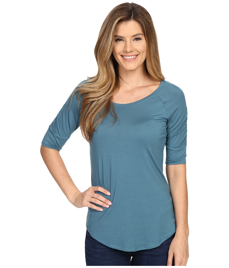 Columbia - Lumianation Elbow Sleeve Shirt (Cloudburst) Women's Short Sleeve Pullover