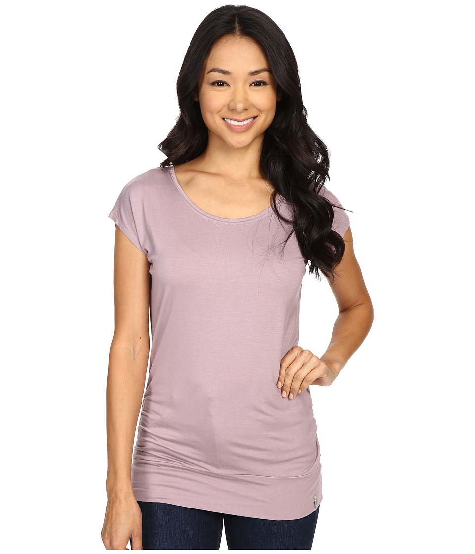 Columbia - Lumianation Short Sleeve Shirt (Sparrow) Women's Short Sleeve Pullover