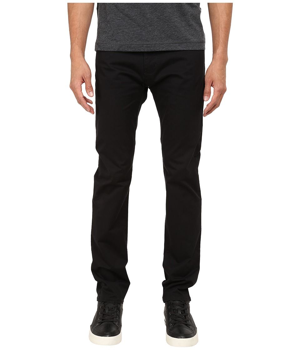 Armani Jeans - 5-Non Denim Pocket Pants (Black) Men's Casual Pants