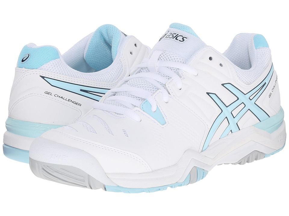ASICS - GEL-Challenger 10 (White/Crystal Blue/Blue Steel) Women's Shoes