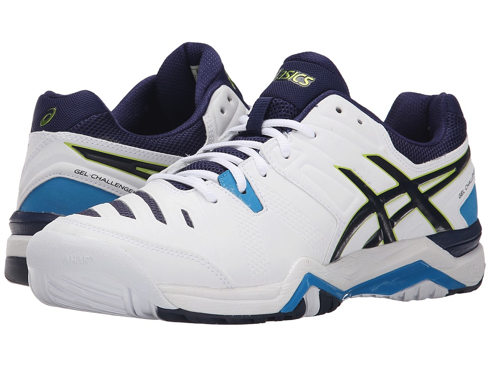 ASICS GEL-Challenger 10 (White/Lime/Indigo Blue) Men