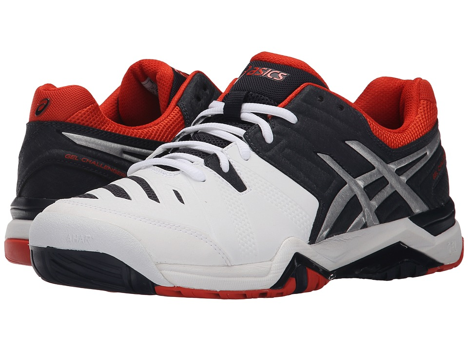 ASICS GEL-Challenger 10 (White/Sky Captain/Orange) Men