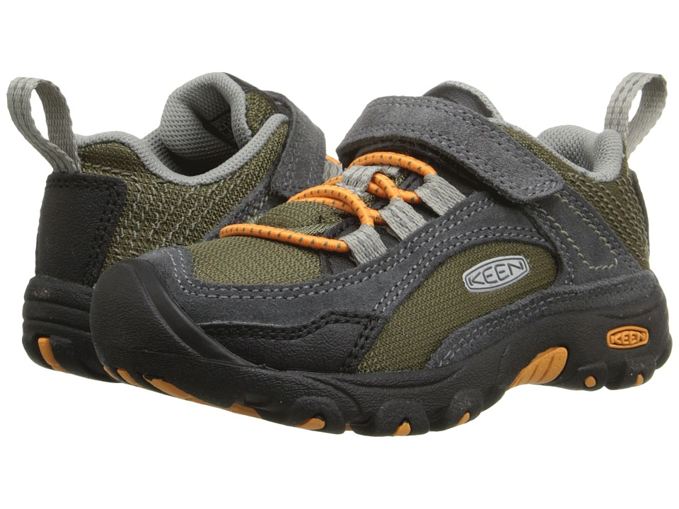 Keen Kids - Joey (Toddler/Little Kid) (Burnt Olive/Burnt Ochre) Boy's Shoes