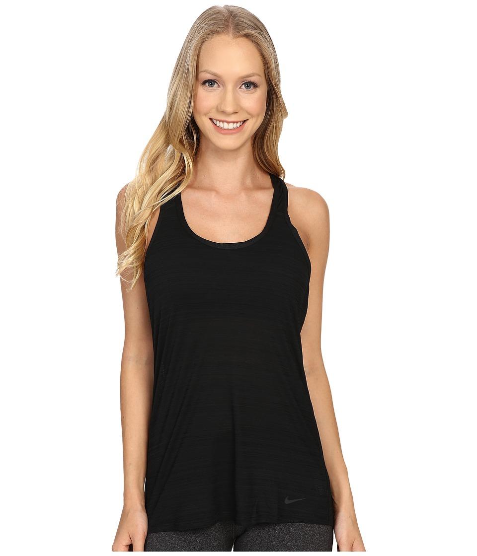 Nike - Victory Tank Top (Black/Black/Black) Women's Sleeveless