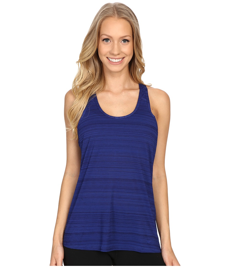 Nike - Victory Tank Top (Deep Royal Blue/Black/Deep Royal Blue) Women's Sleeveless