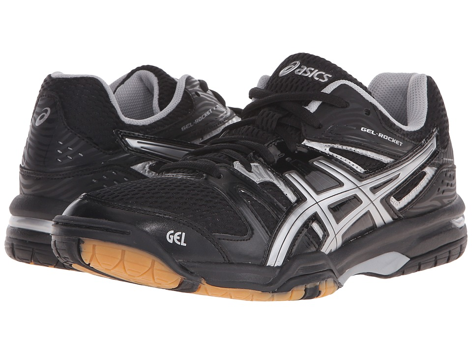 ASICS - GEL-Rocket 7 (Onyx/Silver) Women's Shoes