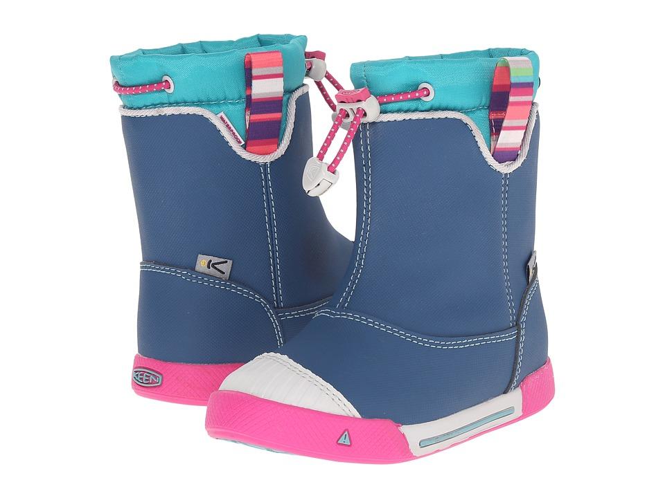 Keen Kids - Encanto 365 Boot WP (Toddler/Little Kid) (Poseidon/Lagoon) Girls Shoes