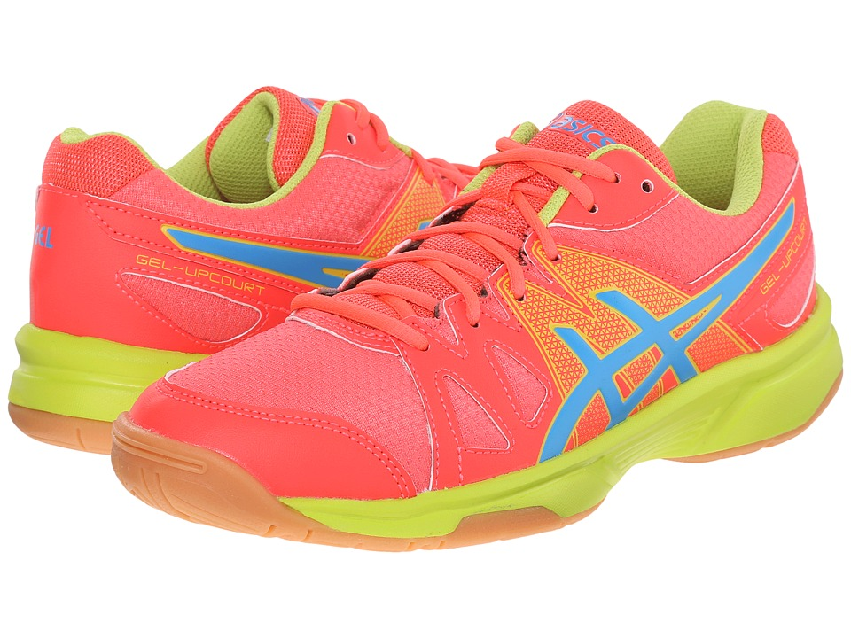 ASICS - Gel-Upcourt (Diva Pink/Methyl Blue/Lime) Women's Shoes