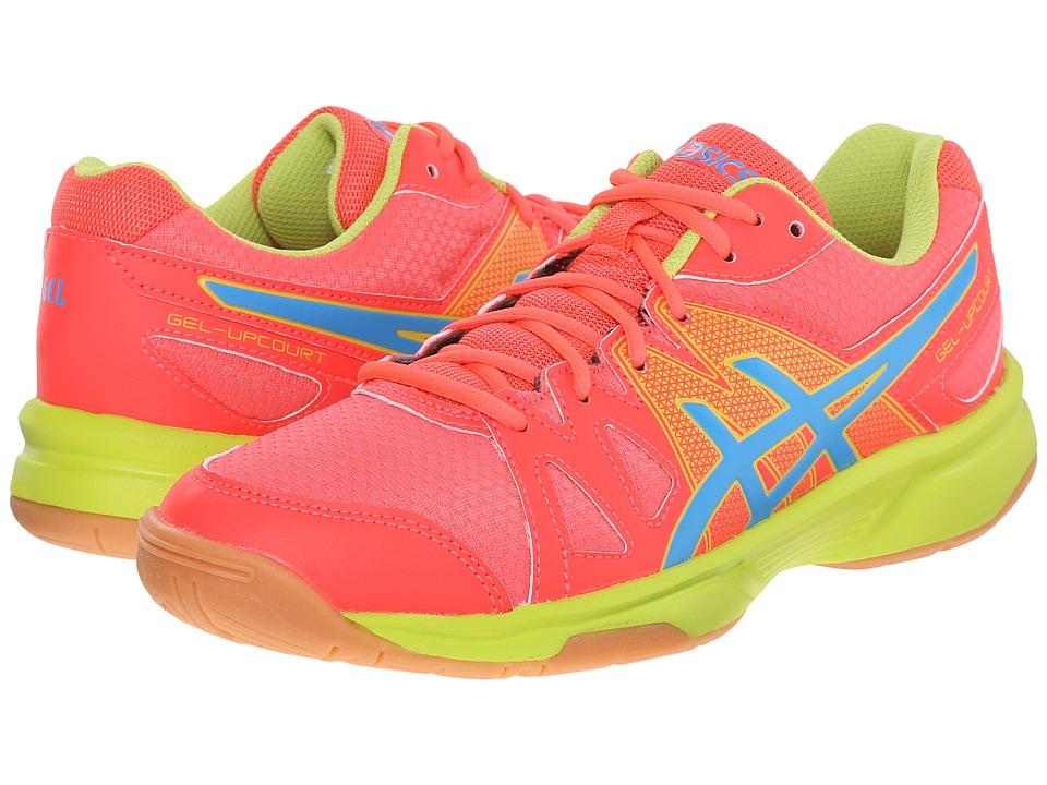 ASICS - Gel-Upcourttm (Diva Pink/Methyl Blue/Lime) Women's Shoes