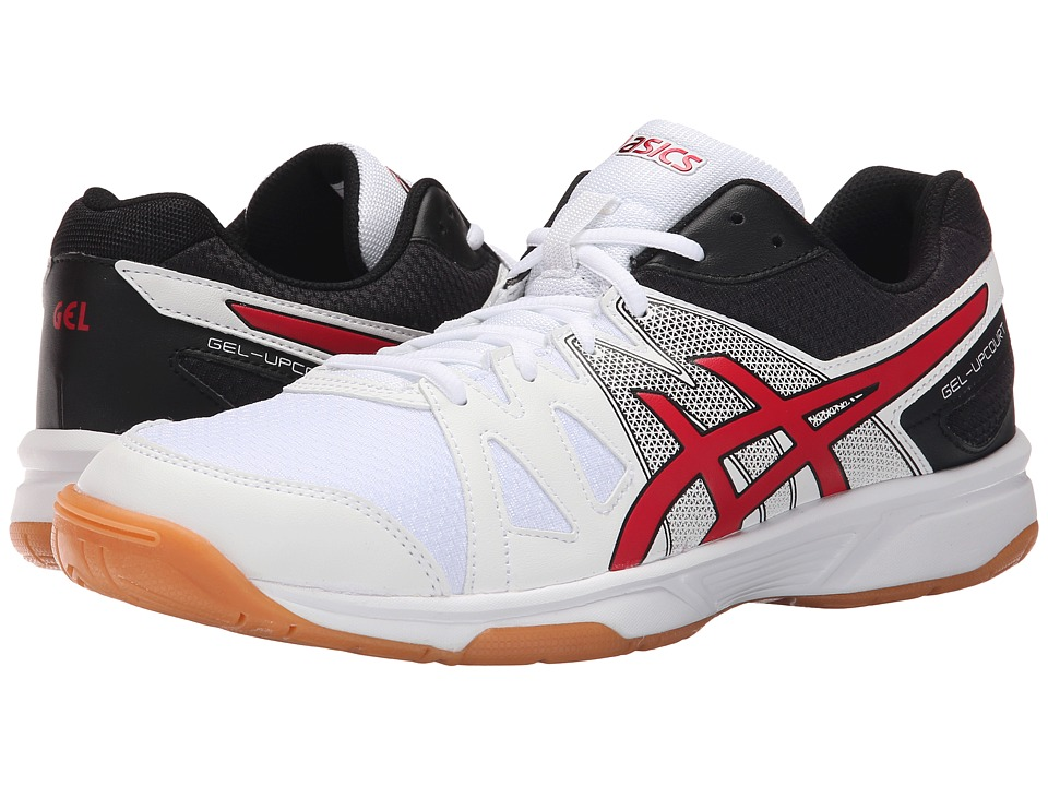 ASICS - Gel-Upcourt (White/Racing Red/Black) Men's Shoes
