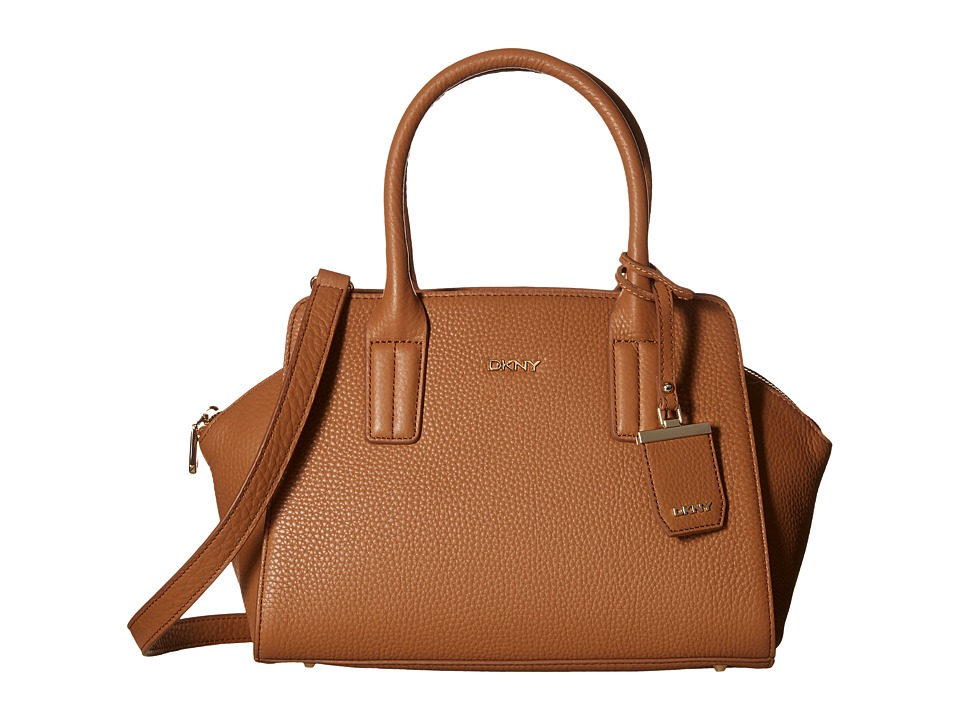 DKNY - Tribeca East-West Satchel (Dark Camel) Satchel Handbags