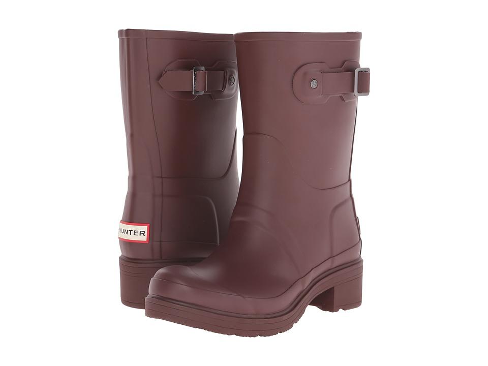 Hunter - Original Ankle Boot (Umber) Women