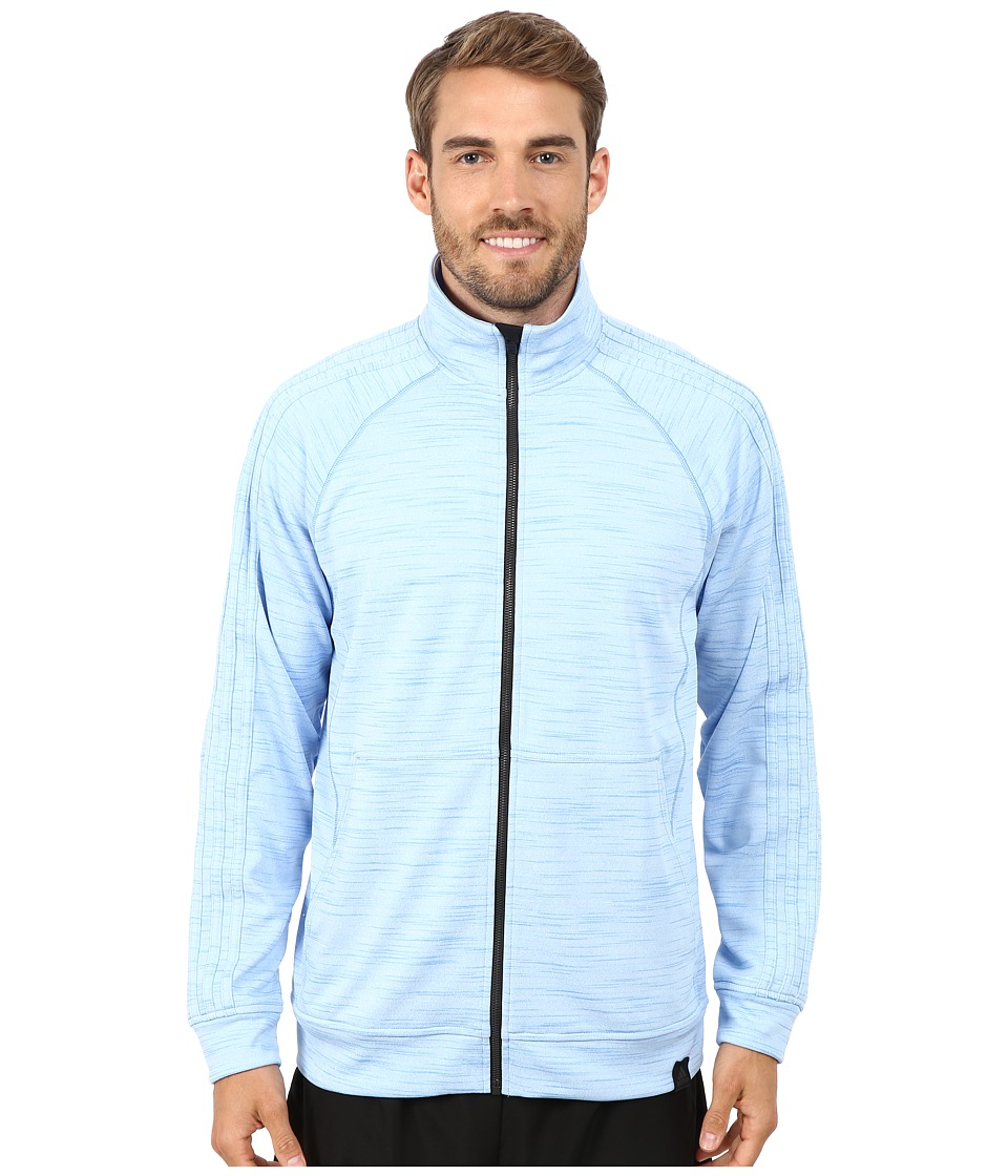 adidas - Standard One Track Jacket (Lucky Blue) Men's Jacket